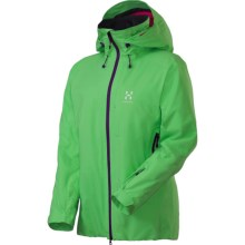 Haglofs SKRA Q Gore-Tex® Ski Jacket -Waterproof, Insulated (For Women) in Pistachio - Closeouts