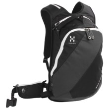 Haglofs Snow Passion  Snowsport Backpack - 14L in Black/Charcoal - Closeouts