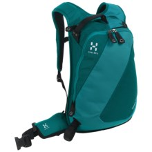 Haglofs Snow Passion  Snowsport Backpack - 14L in Teal Blue/Kolibri Blue - Closeouts