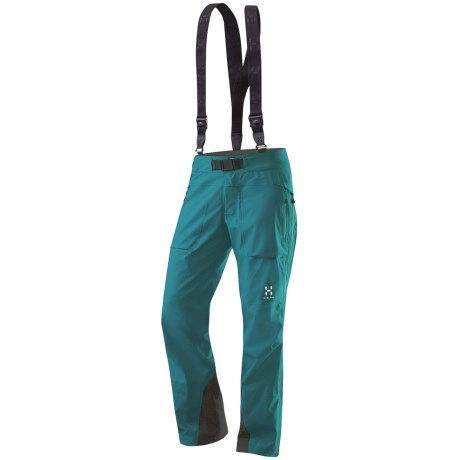 Haglofs Spinx Q Gore-Tex® Pro Shell Pants - Waterproof (For Women) in Kolibri Blue