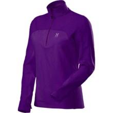 Haglofs Stem II Q Pullover - Zip Neck, Long Sleeve (For Women) in Royal Purple - Closeouts