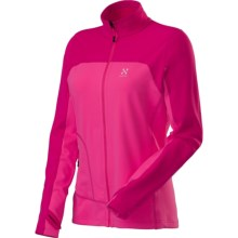 Haglofs Stem Q Jacket (For Women) in Astral Pink/Cosmic Pink - Closeouts