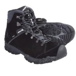 Haglofs Stroll Gore-Tex® Hiking Boots - Waterproof, Suede (For Men) in Black/Silver