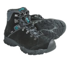 Haglofs Stroll Gore-Tex® Hiking Boots - Waterproof, Suede (For Women) in Black/Kolibri Blue - Closeouts