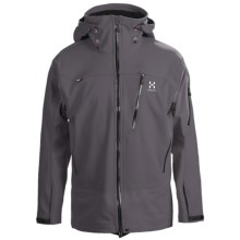 Haglofs Suta Hood Windstopper® Jacket - Soft Shell (For Men) in Graphite/Charcoal - Closeouts