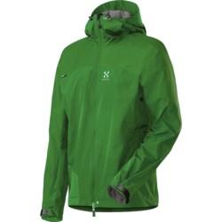 Haglofs Swift II Q Jacket - Windstopper® (For Men) in Basil Green