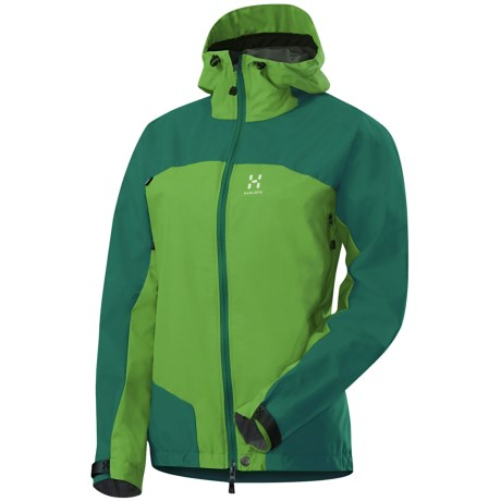 Haglofs Swift II Q Jacket - Windstopper® (For Men) in Verdigris/Oxide Green