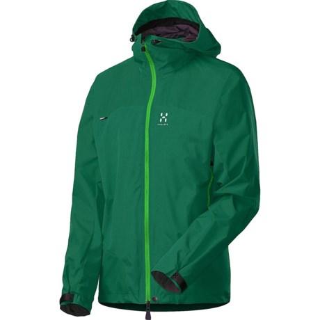 Haglofs Swift II Q Jacket - Windstopper® (For Men) in Verdigris