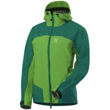 Haglofs Swift II Q Jacket - Windstopper® (For Women) in Verdigris/Oxide Green - Closeouts