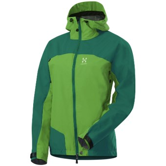 Haglofs Swift II Q Jacket - Windstopper® (For Women) in Verdigris/Oxide Green
