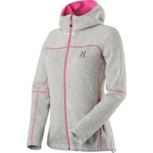 Haglofs Swook Q Jacket - Fleece (For Women) in Soft White - Closeouts