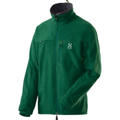 Haglofs Taifun II Fleece Jacket - Windstopper® (For Men) in Jungle Green