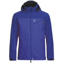 Haglofs Talus Windstopper® Jacket - Soft Shell (For Men) in Meso Blue/Abyss - Closeouts