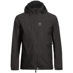 Haglofs Talus Windstopper® Soft Shell Jacket (For Men) in Charcoal