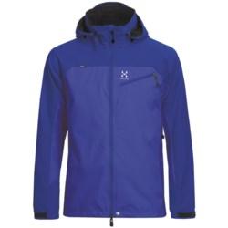 Haglofs Talus Windstopper® Soft Shell Jacket (For Men) in Meso Blue/Abyss