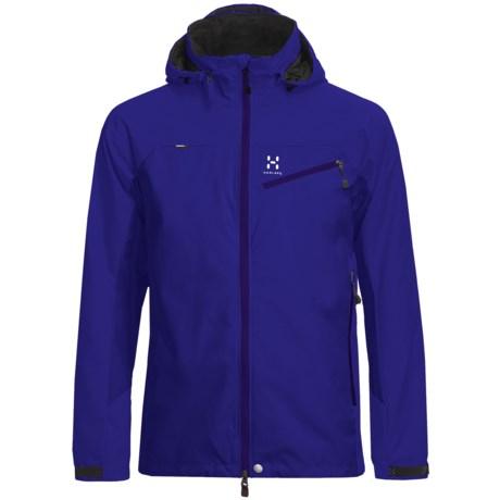 Haglofs Talus Windstopper® Soft Shell Jacket (For Men) in Meso Blue