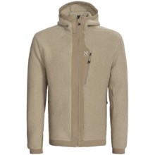 Haglofs Thule Hooded Jacket - Polartec® Thermal Pro® Fleece (For Men) in Basalt/Tungsten - Closeouts