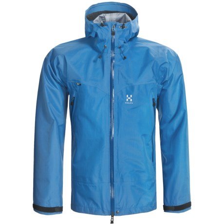 Haglofs Tilta Gore-Tex® Jacket - Waterproof (For Men) in Oxy Blue