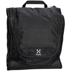 Haglofs Toilet Bag - Large in True Black/True Black