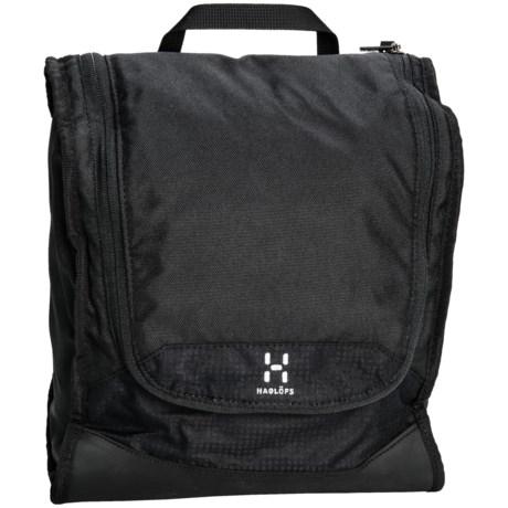 Haglofs Toilet Bag - Large in True Black/True Black