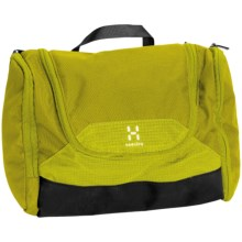 Haglofs Toilet Bag - Medium in Seasparkle/Firefly - Closeouts