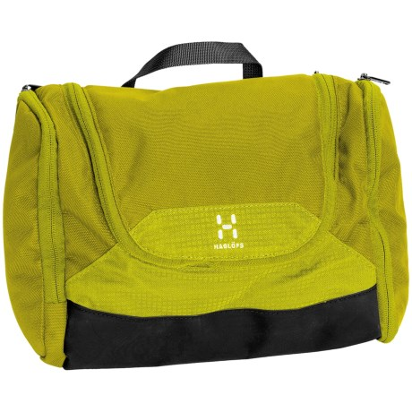 Haglofs Toilet Bag - Medium in Seasparkle/Firefly