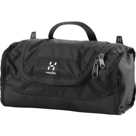 Haglofs Toilet Bag - Small in True Black/True Black