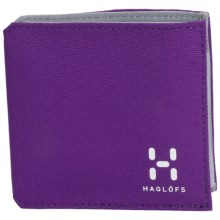 Haglofs Tri-Fold Wallet in Royal Purple - Closeouts