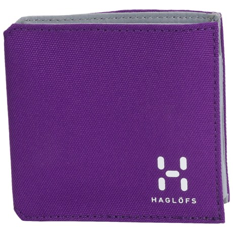 Haglofs Tri-Fold Wallet in Royal Purple