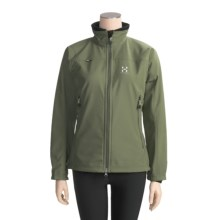 Haglofs Tropo Jacket - Soft Shell (For Women) in Aloe Vera - Closeouts