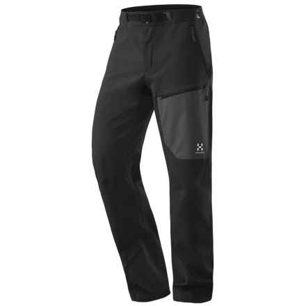 Haglofs Tuff Pants - Soft Shell (For Men) in Black - Closeouts
