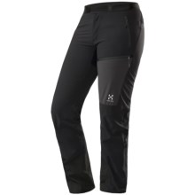 Haglofs Tuff Q Pants - Soft Shell (For Women) in Black - Closeouts