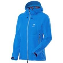 Haglofs Ulta Q Hood Soft Shell Jacket - Windstopper® (For Women) in Aero Blue - Closeouts
