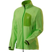 Haglofs Ulta Q Soft Shell Jacket - Windstopper® (For Women) in Pistachio - Closeouts