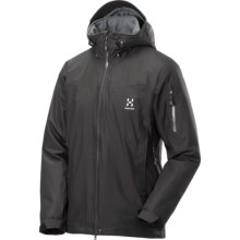 Haglofs Utvak II Jacket - Waterproof , Insulated (For Men) in True Black/Magnetite - Closeouts