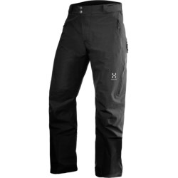 Haglofs Utvak Pants - Waterproof, Insulated (For Men) in True Black