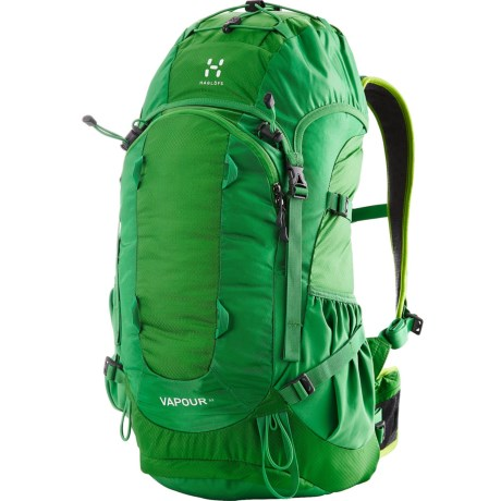 Haglofs Vapour 32L Backpack - Internal Frame in Ginko Green