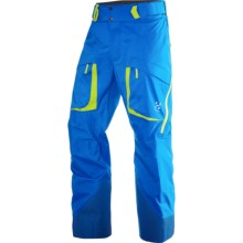 Haglofs Vassi II Gore-Tex® Pants - Waterproof (For Men) in Gale Blue/Firefly - Closeouts