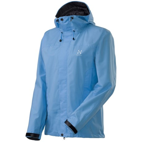 Haglofs Velum II Jacket - Waterproof, Recycled Materials (For Women) in Mist Blue