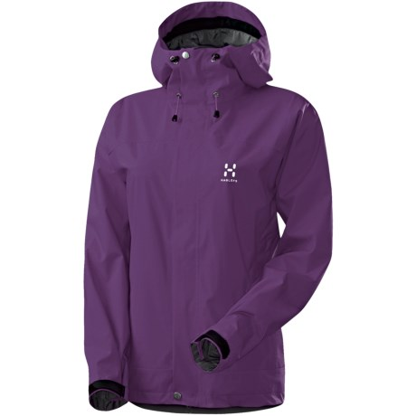 Haglofs Velum II Jacket - Waterproof, Recycled Materials (For Women) in Triffid