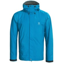 Haglofs Velum II Lightweight Shell Jacket - Recycled Materials (For Men) in Oxy Blue - Closeouts