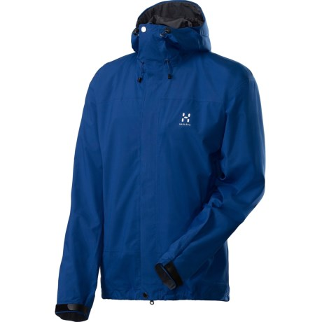 Haglofs Velum II Lightweight Shell Jacket - Recycled Materials (For Men) in Typhoon Blue