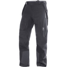 Haglofs Verte II Ski Pants - Waterproof (For Men) in True Black - Closeouts