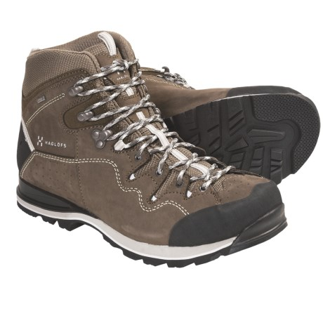 Haglofs Vertigo Hi Gore-Tex® Hiking Boots - Waterproof, Nubuck (For Men) in Barque