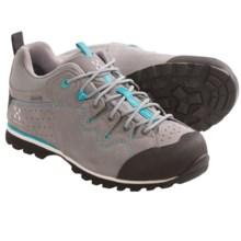 Haglofs Vertigo II Q Gore-Tex® Leather Trail Shoes - Waterproof (For Women) in Concrete/Bluebird - Closeouts
