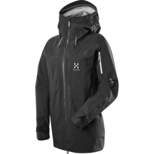 Haglofs Vojd Q Gore-Tex® Jacket - Waterproof (For Women) in True Black - Closeouts