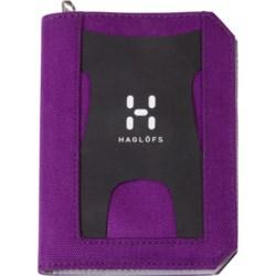 Haglofs Zip Wallet in True Black