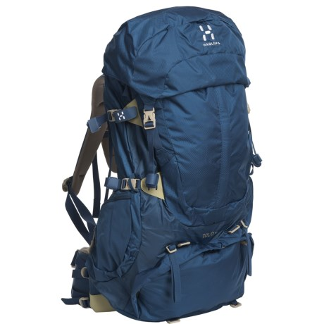Haglofs Zolo 60 Backpack - Internal Frame in Strato Blue