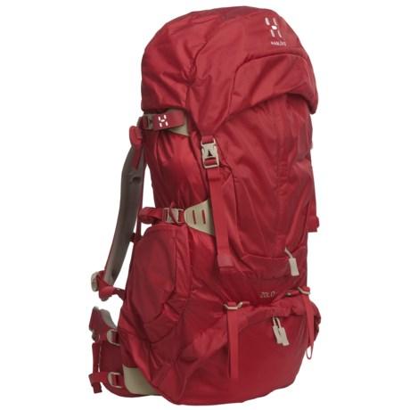 Haglofs Zolo Q50 Backpack - Internal Frame (For Women) in Deep Red