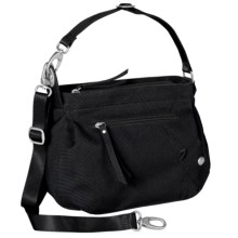 Haiku Bucket Shoulder Bag - Recycled Materials (For Women) in Black - Closeouts